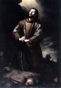 St. Francis Praying