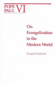 Evangelization in the modern world