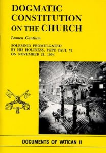 dogmatic constitution on the church